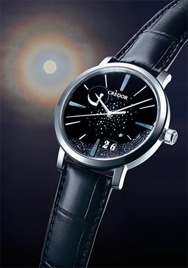 2016年3月発売  SEIKOのブランド・CREDOR(クレドール)にて 時計の文字盤を製作させて頂きました。