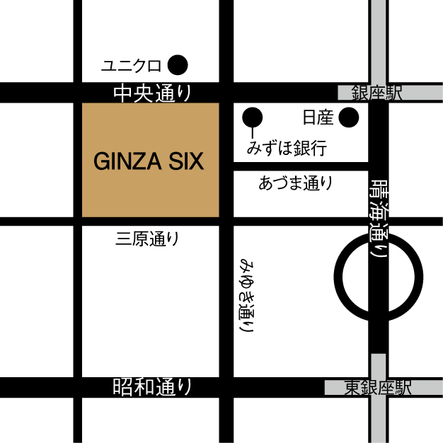 GINZA SIX店